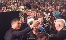 فیلم / سلفی مردم با کریستیانو رونالدو در 1 ثانیه