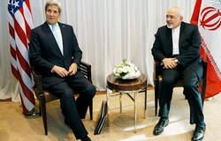دیدار وزیران امروخارجه ایران و آمریکا ؛ ظریف و کری