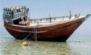 غرق شدن لنج باری در نزدیکی جزیره ابوموسی