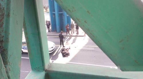 خودکشی دختر جوان در میدان رسالت تهران