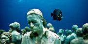 """موزه دیدنی و زیر آبی """"کانکون"""" در مکزیک + عکس"""