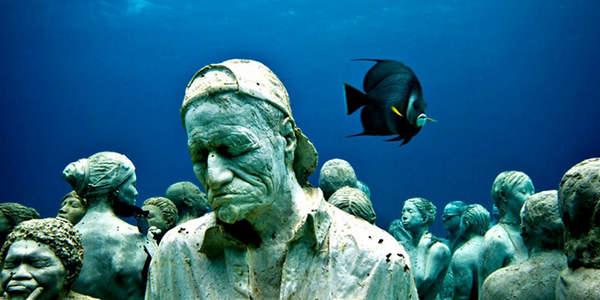 Cancun موزه زیرآبی مکزیک