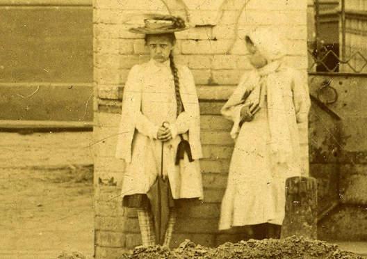 شبح دختری که در آثار تاریخی روسیه وجود دارد + عکس
