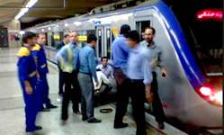 جزئیات خودکشی دیروز در ایستگاه شوش مترو تهران