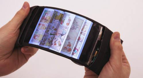 گوشی هوشمند ReFlex اولین گوشی خم شونده + عکس