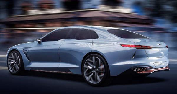 معرفی خودروی لوکس جنسیس G70 در نمایشگاه خودروی نیویورک ۲۰۱۶