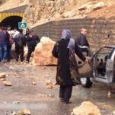 جاده هراز حادثه آفرید / ریزش سنگ و آسیب ۵ نفر