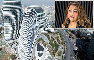 Zaha Hadid معمار مشهور زاها حدید