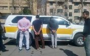 عکس / دستگیری سارقان مسلح بانک پاسارگاد تهران در لاهیجان