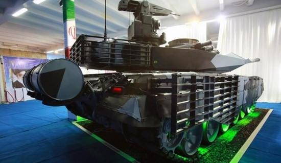 iran New tank karrar